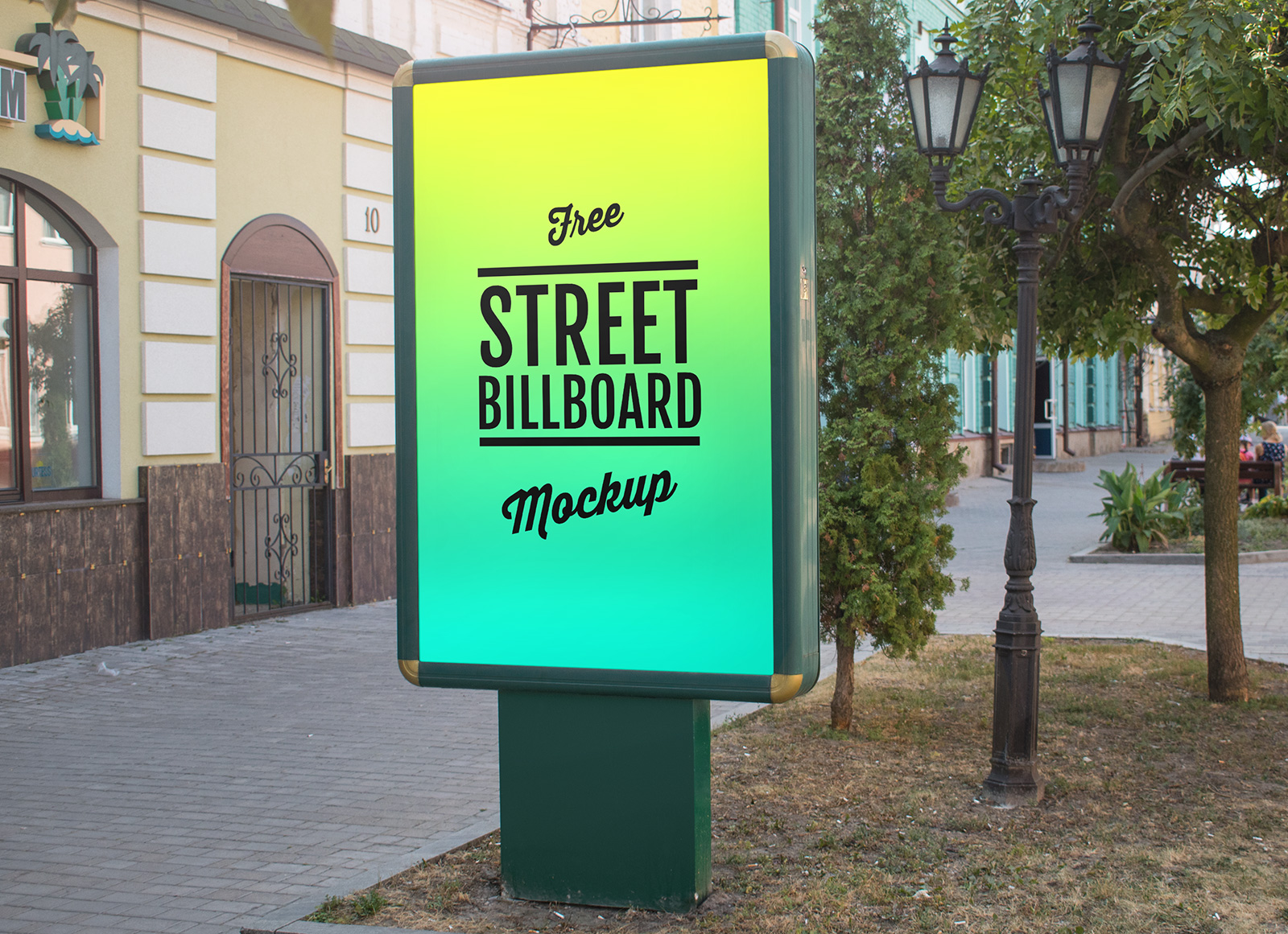 Free-Outdoor-Advertising-Display-Street-Billboard-Mockup-PSD