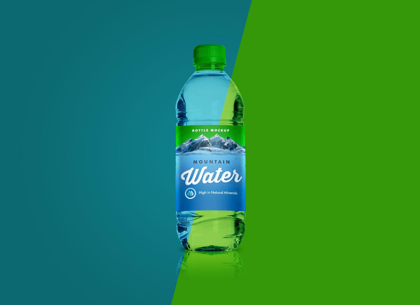 Free-PET-Water-Bottle-Mockup-PSD-1