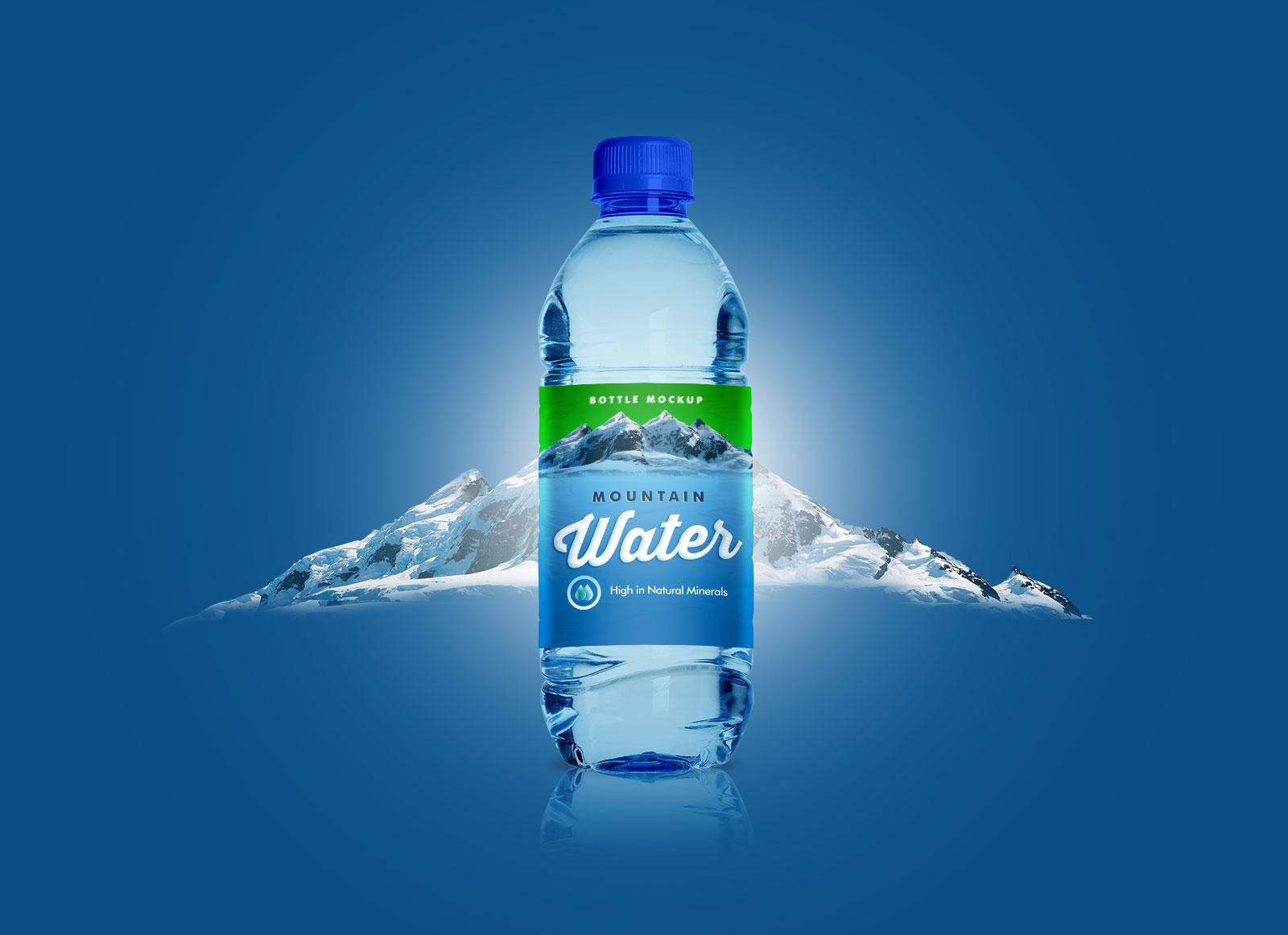 Free-PET-Water-Bottle-Mockup-PSD