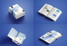 Free-Softcover-Book-Mockup-PSD-Set-(11-Files)