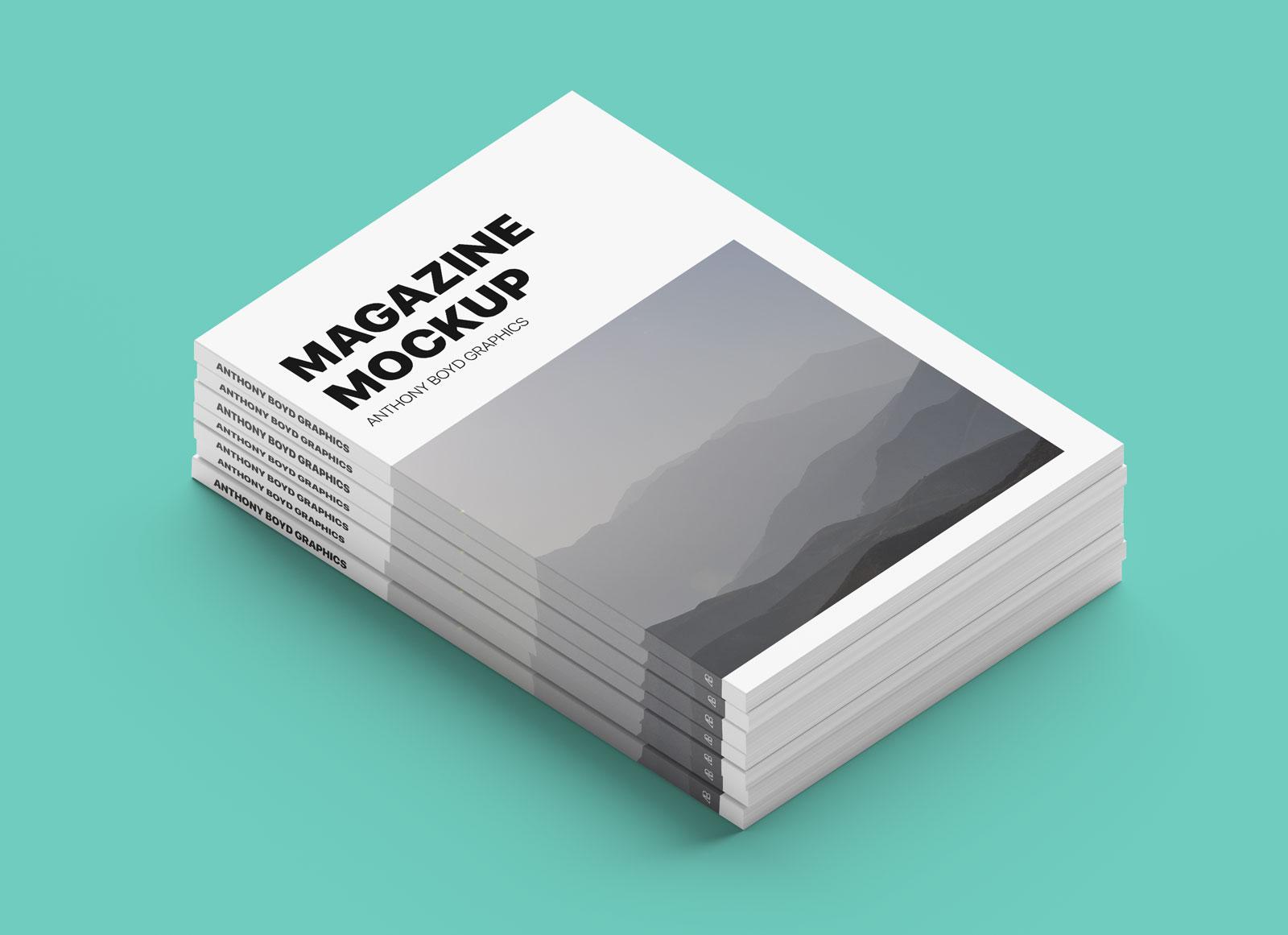 Free-Stacked-Magazine-Title-Mockup-PSD