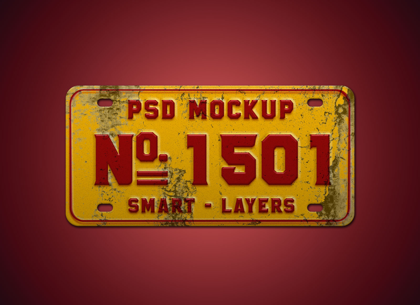 Free-Steel-Car-Number-Plate-mockup-PSD