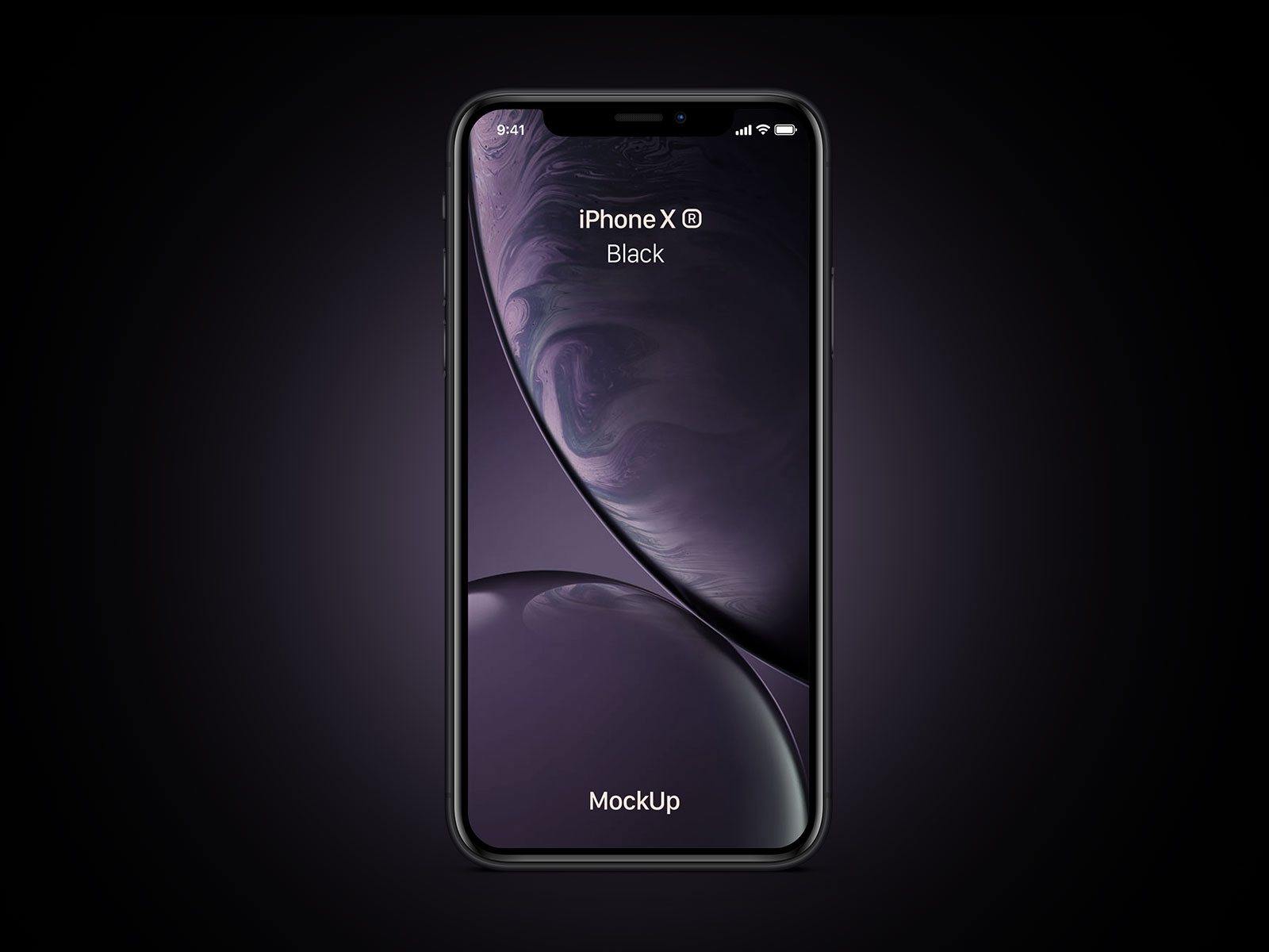 Free-iPhone-Xr-Black-Mockup-PSD
