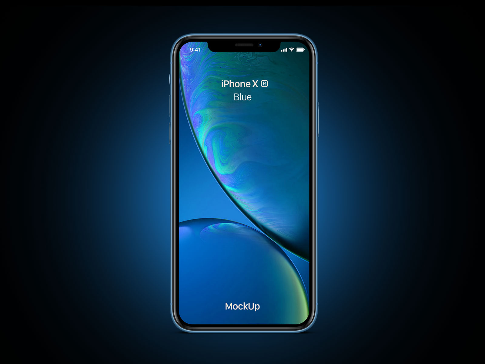 Free-iPhone-Xr-Blue-Mockup-PSD