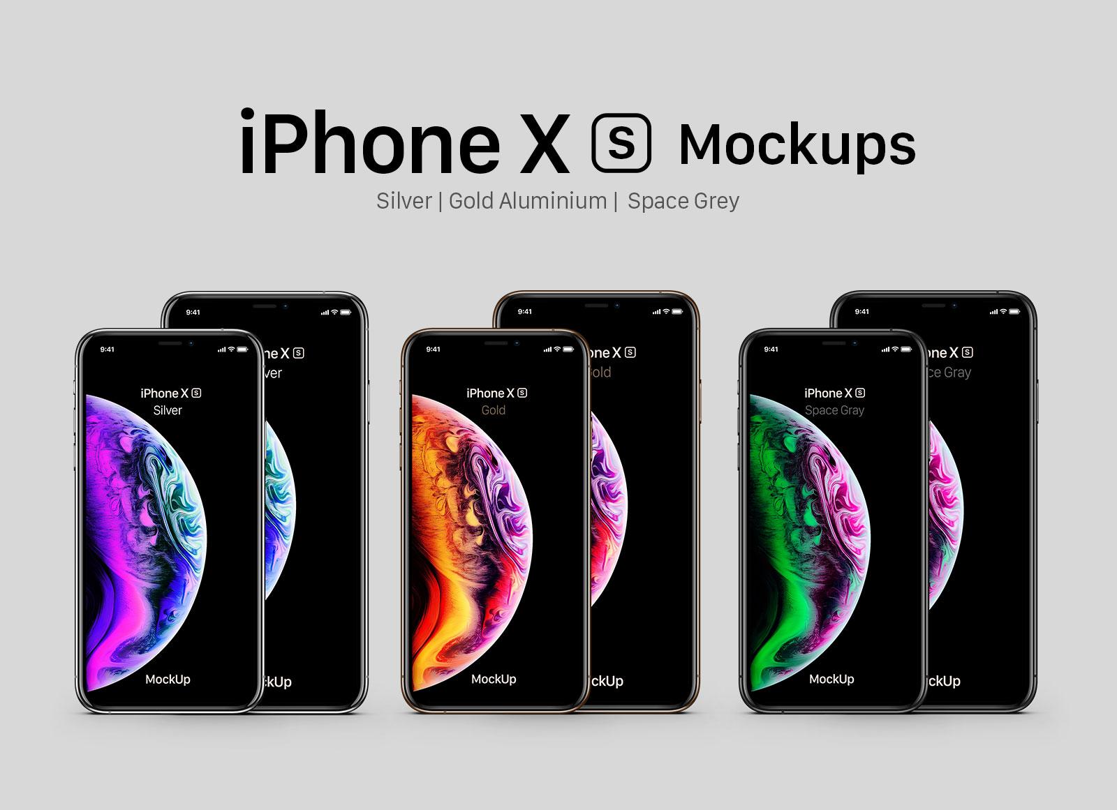 Free-iPhone-Xs-&-Xs-Max-Mockup-PSD-Set-2