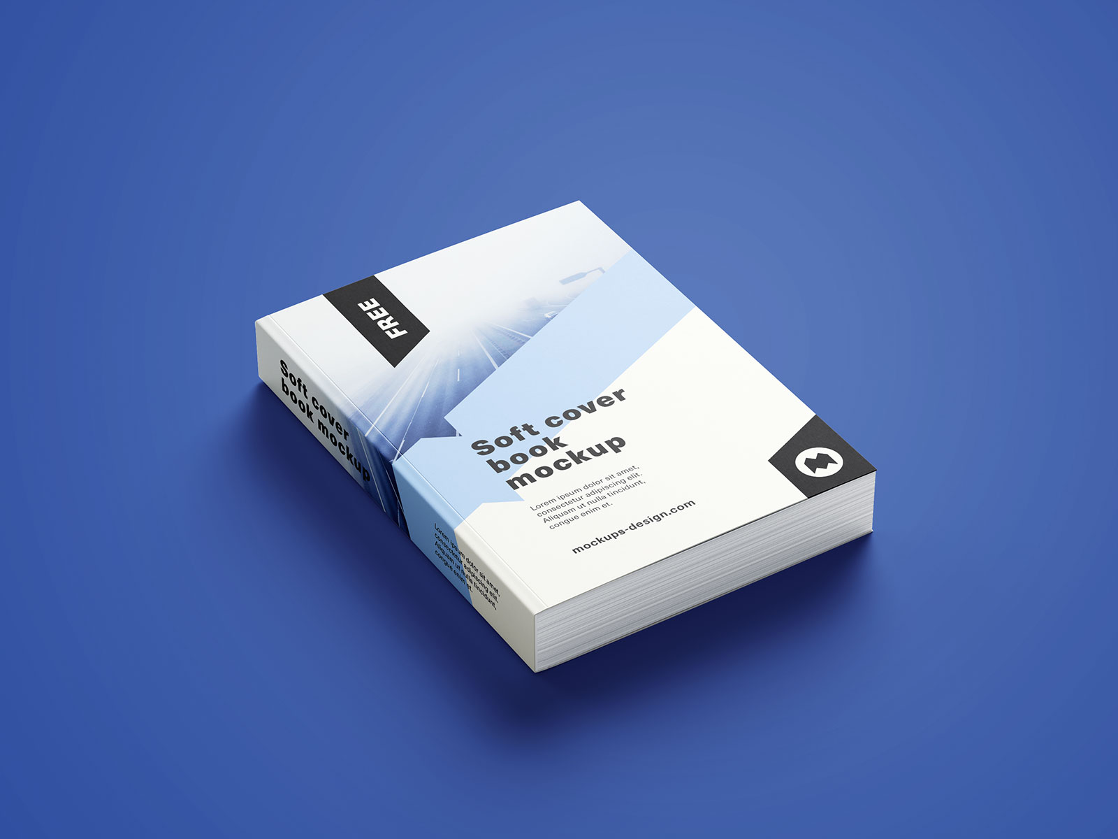 Softcover Book Mockup PSD (1)