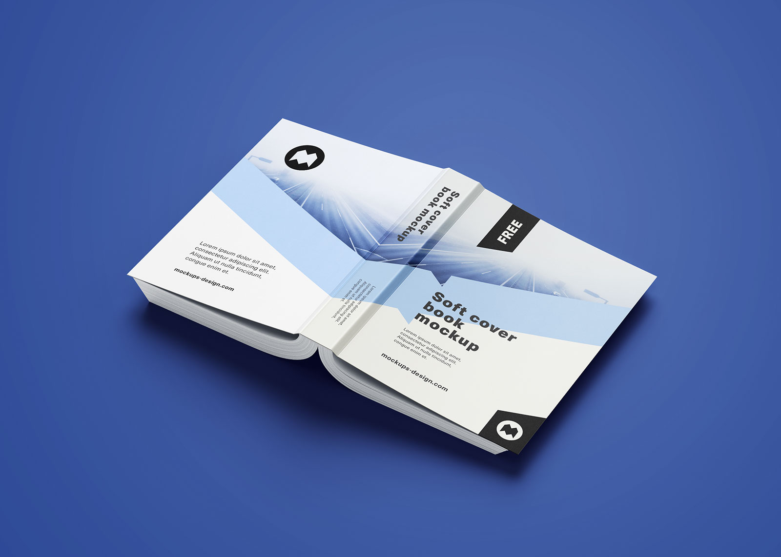 Softcover Book Mockup PSD (10)