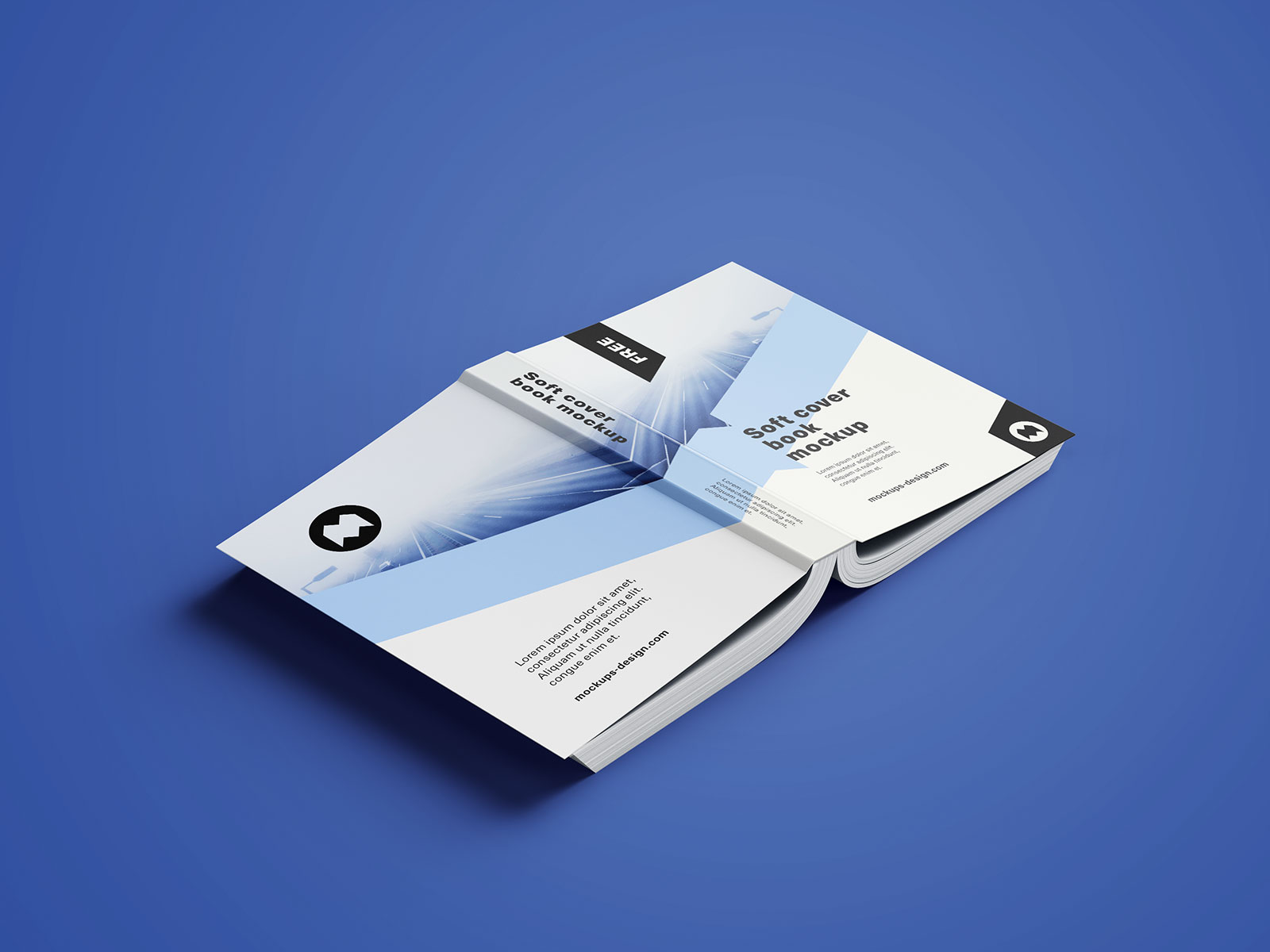 Softcover Book Mockup PSD (11)