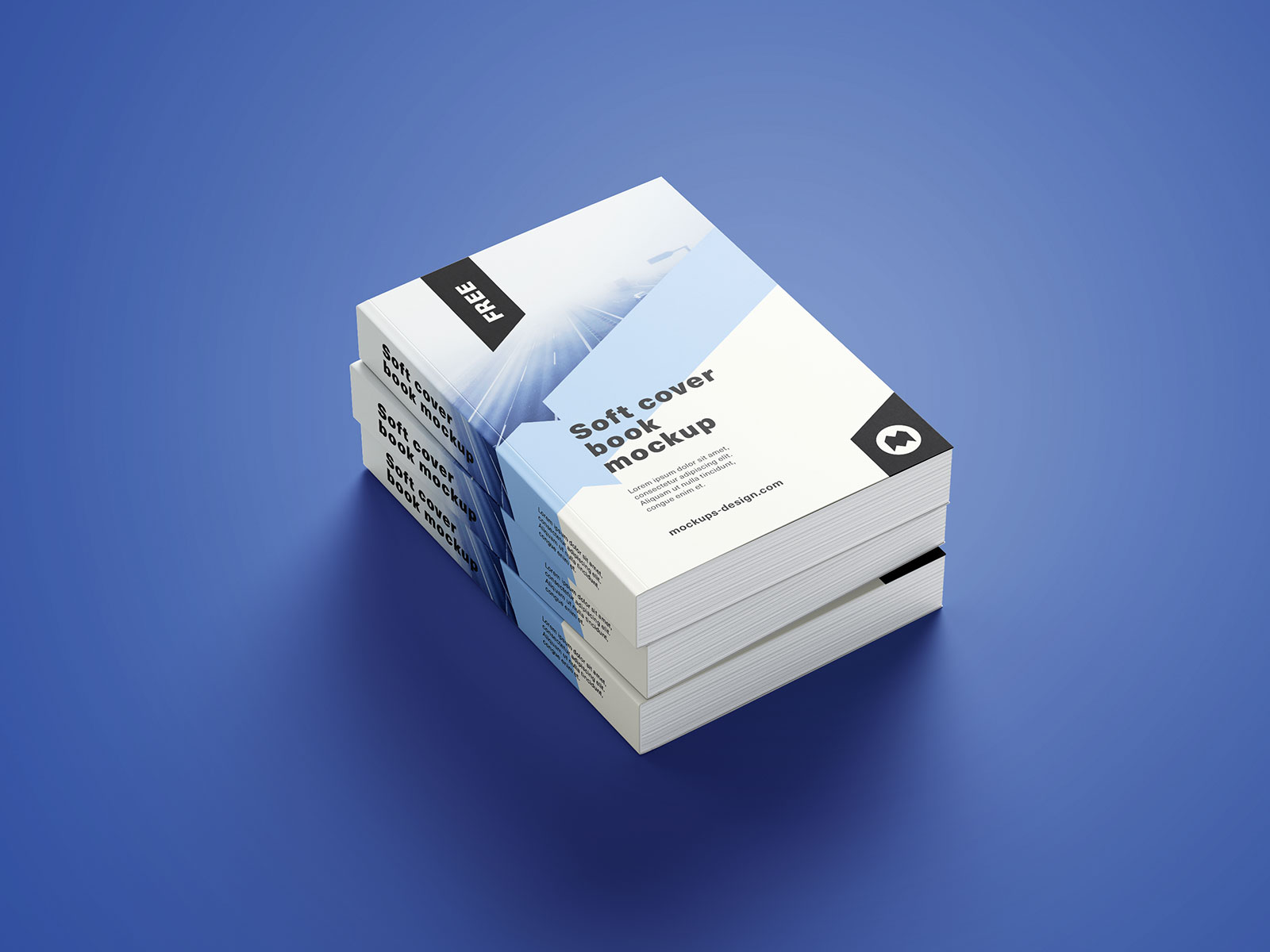 Softcover Book Mockup PSD (2)