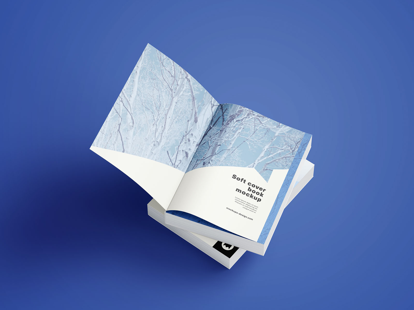Softcover Book Mockup PSD (3)