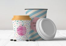Free-8-&-12-OZ-Coffee-Cup-Mockup-PSD