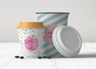 Free-8-&-12-OZ-Coffee-Cup-Mockup-PSD