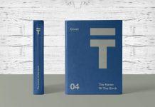 Free Hardcover Dust Jacket Book Mockup Psd Good Mockups