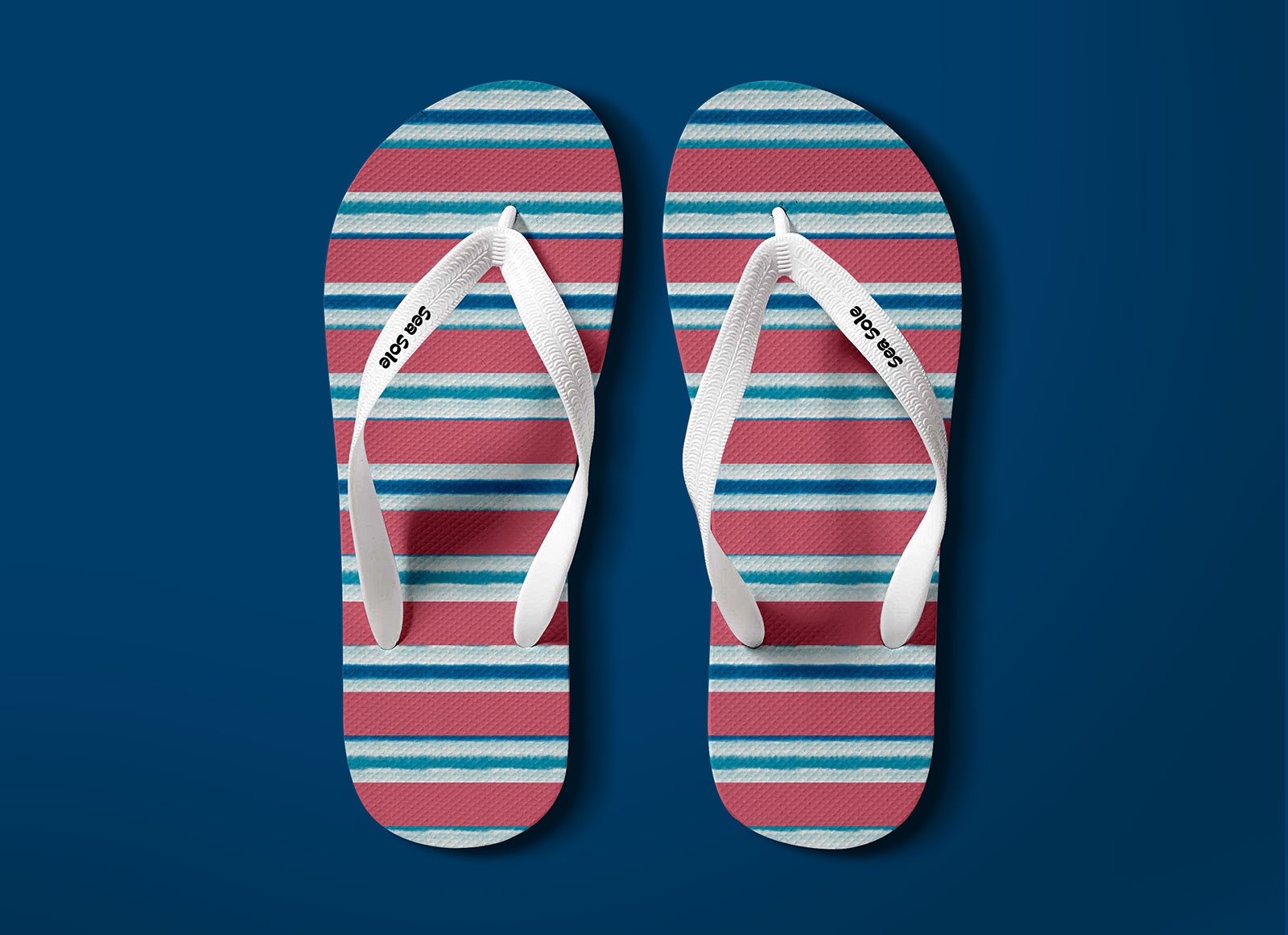 5115e94fc Free Flip Flops Beach Slippers Mockup PSD - Good Mockups