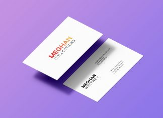 Free-Floating-Front-Back-Business-Card-Mockup-PSD