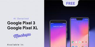 Free-Google-Pixel-3-&-Google-Pixel-3-XL-Mockup-PSD-Sketch-XD-Ai-EPS- (1)