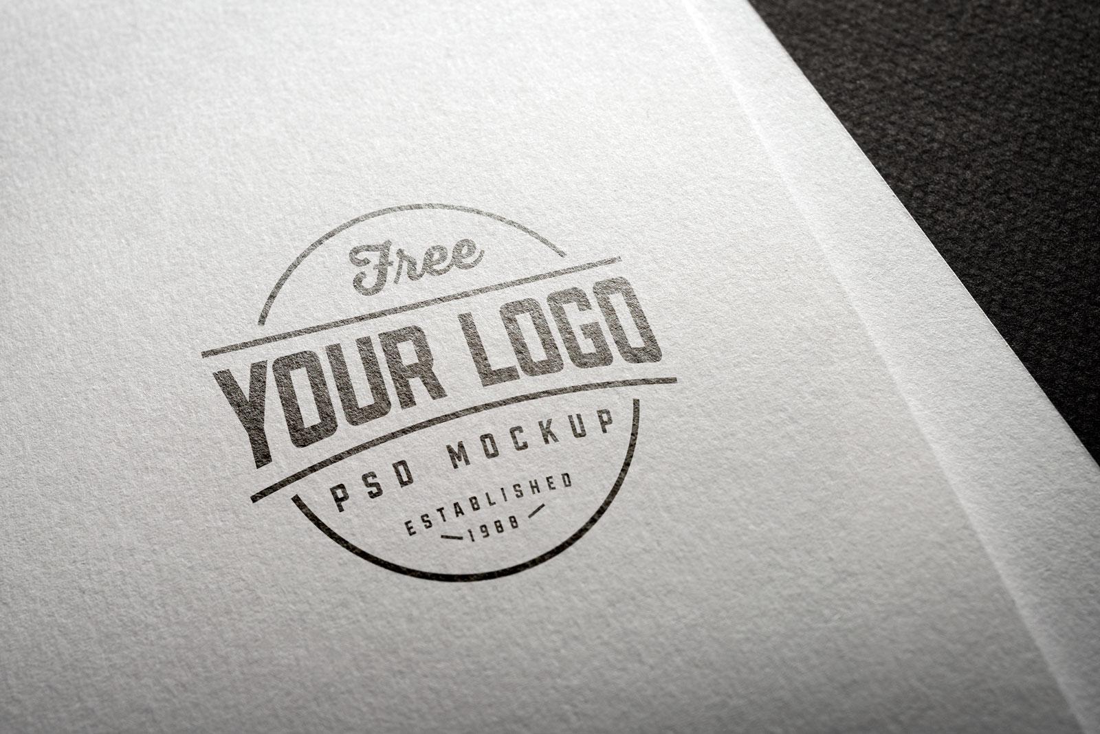 Free-Natural-Paper-Printed-Logo-Mockup-PSD