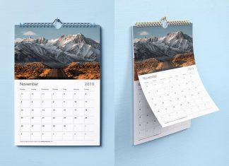 Free-Premium-Wall-Calendar-Mockup-PSD-Set-2019-2