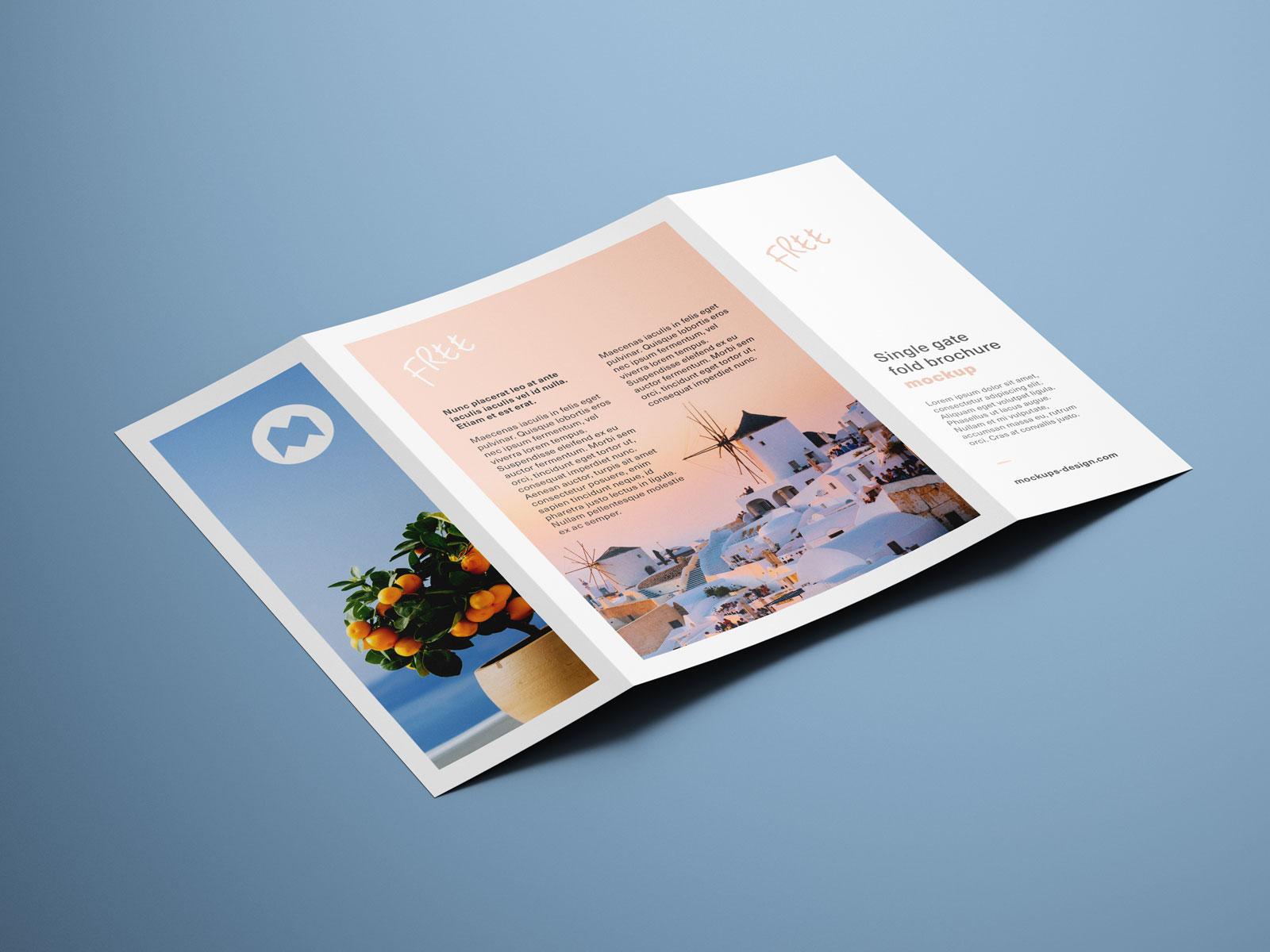 Free-Single-Gate-Fold-Brochure-Mockup-PSD-Set