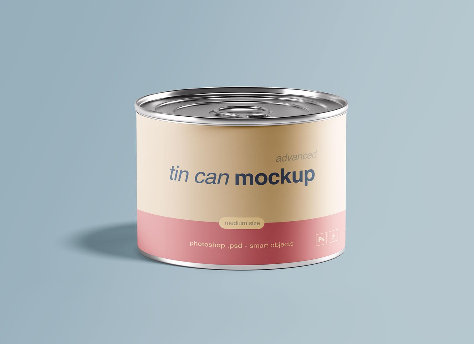 Free-medium-Size-Food-Tin-Can-Mockup-PSD