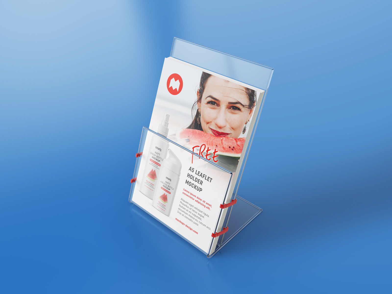 Free-Transparent-Leaflet-Flyer-Holder-Stand-Mockup-PSD-Set-2