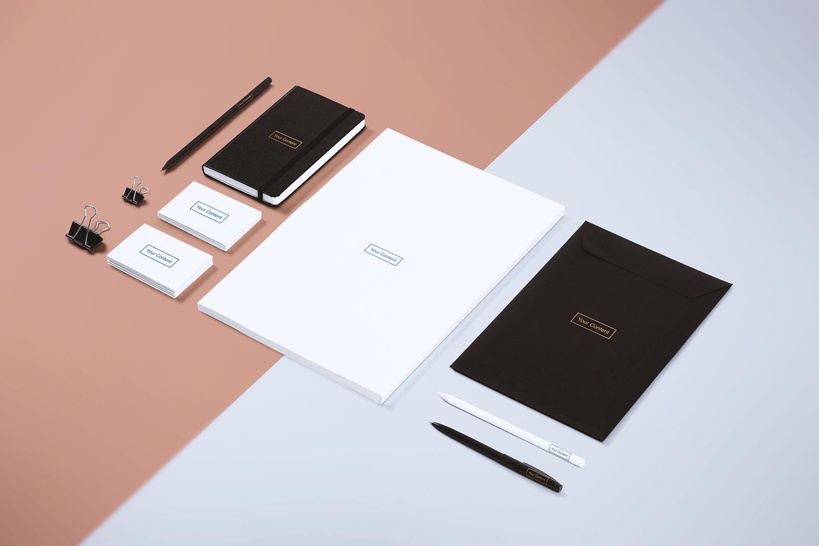 Free-White-Stationery-Branding-Mockup-PSD-File