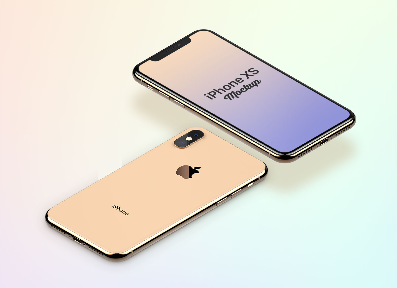 Free-iPhone-Xs-Splash-Screen-Mockup-PSD-File