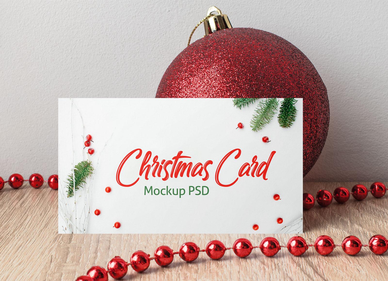 Free-Horizontal-Christmas-Card-Mockup-PSD