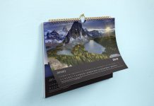 Free-Horizontal-Wall-Calendar-Mockup-PSD-Set-2