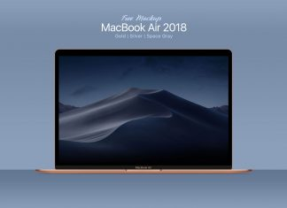 Free-MacBook-Air-PSD-Mockup