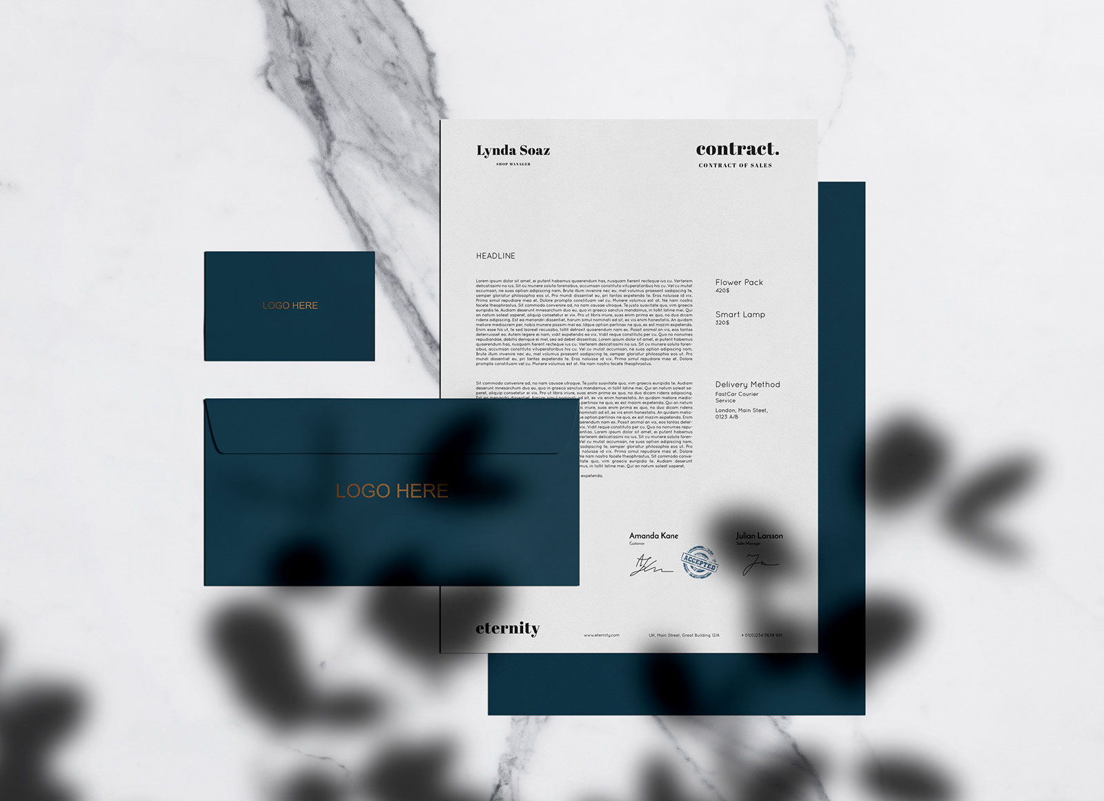 Free-Simple-Stationery-with-Shadow-Mockup-PSD-3