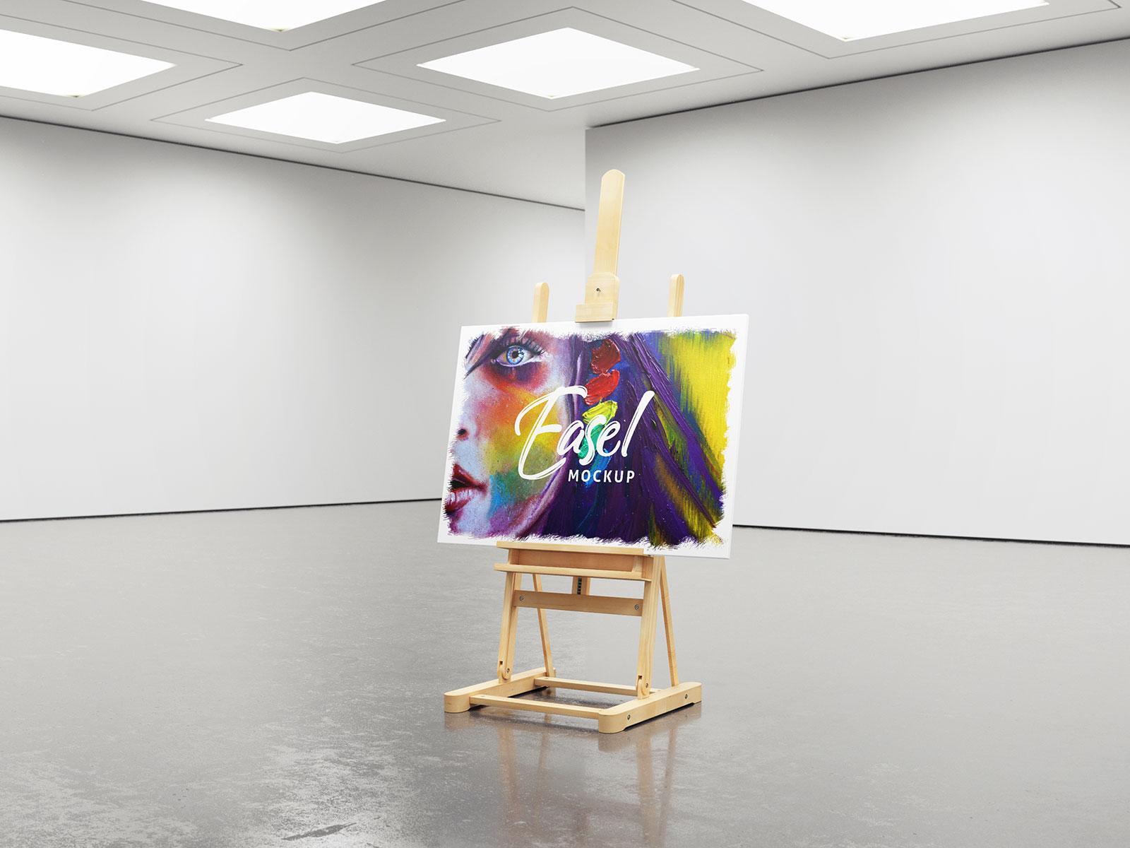 Free-Studio-Easel-Mockup-PSD-Set