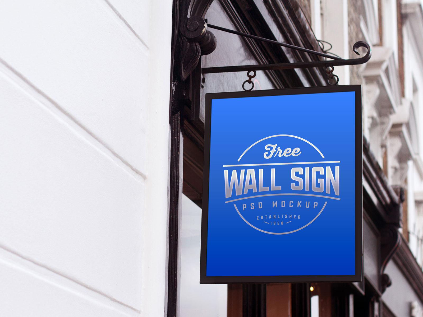 Free-Wall-Mounted-Classic-Sign-Mockup-PSD