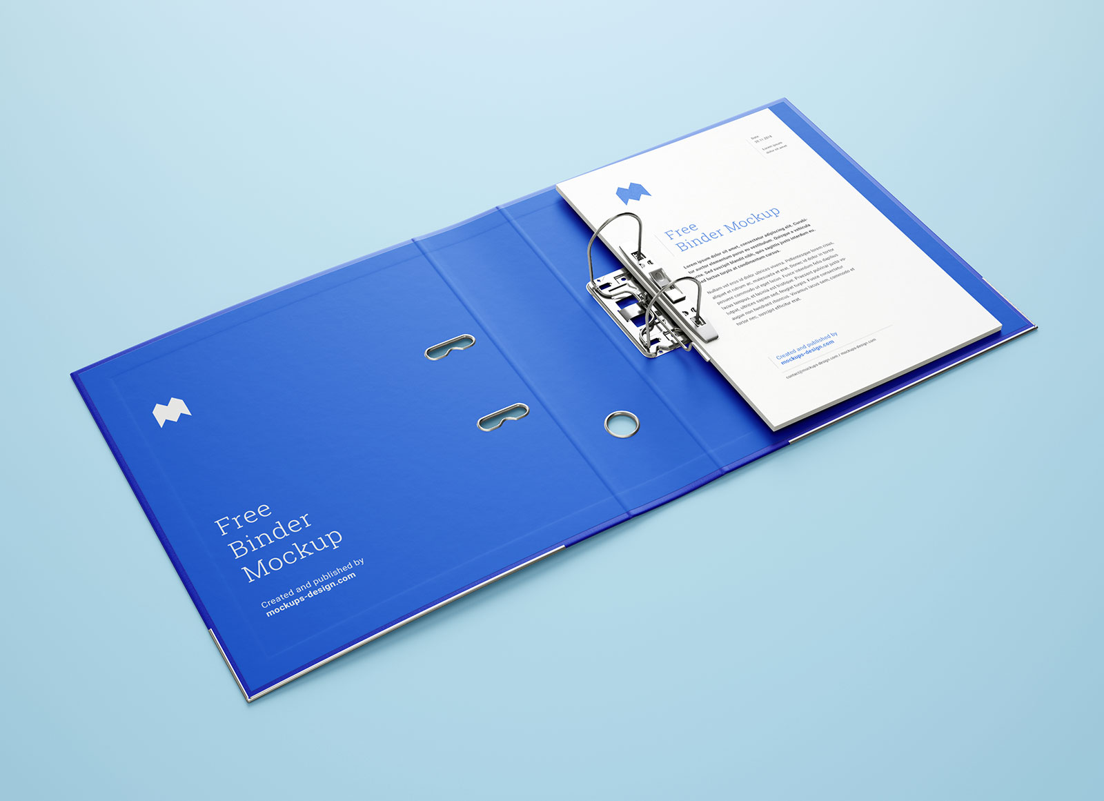Free-2-Ring-Binder-With-Letterhead-Mockup-PSD-Set-