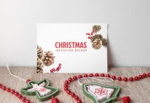 Free-Christmas-Invitation-Card-Mockup-PSD