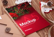 Free-Christmas-Post-Card-Mockup-PSD