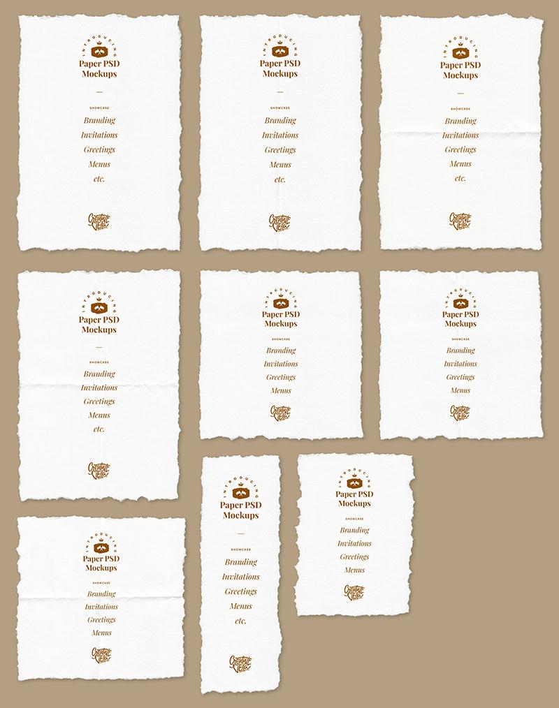 Free-Deckle-Edge-Paper-Mockup-PSD-Set-3