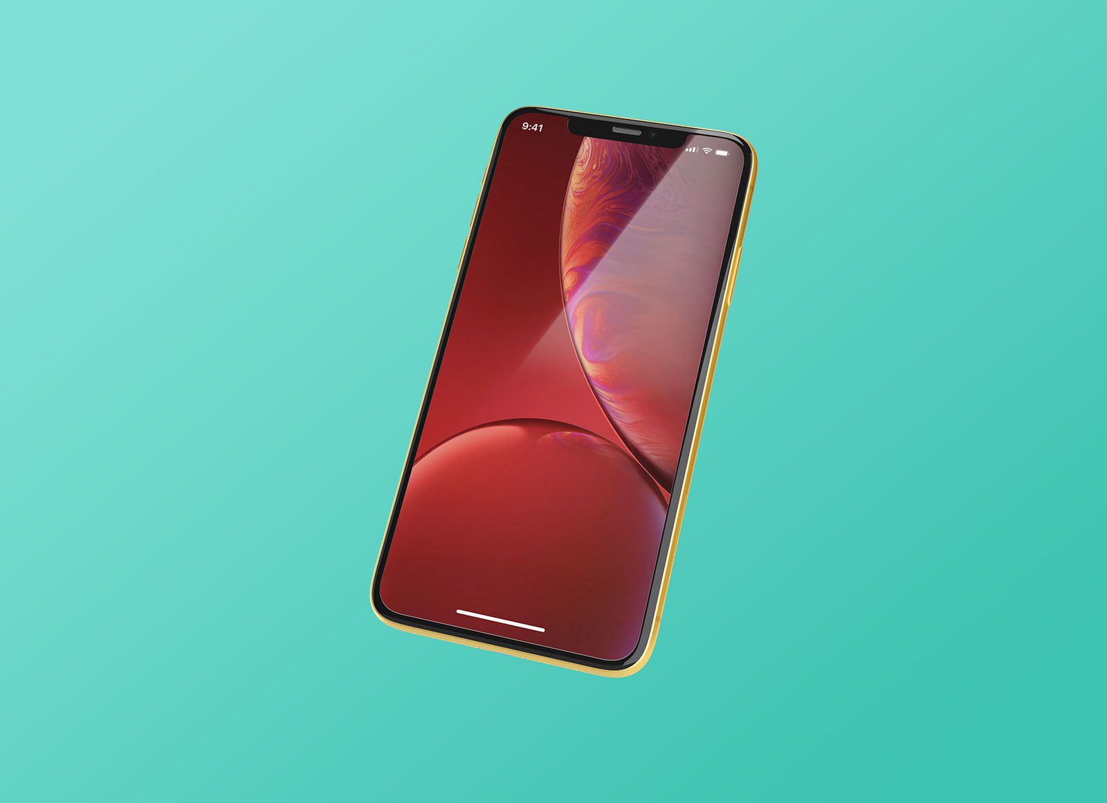 Free-Floating-iPhone-XR-Mockup-PSD
