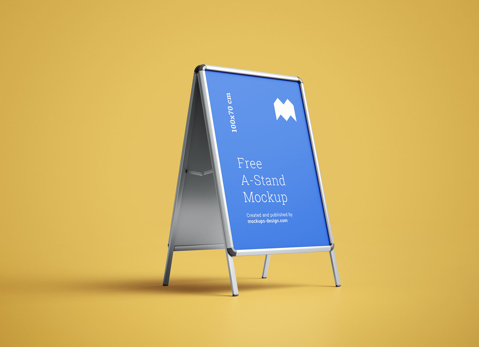 Free-Outdoor-Advertising-A-Stand_Mockup_PSD