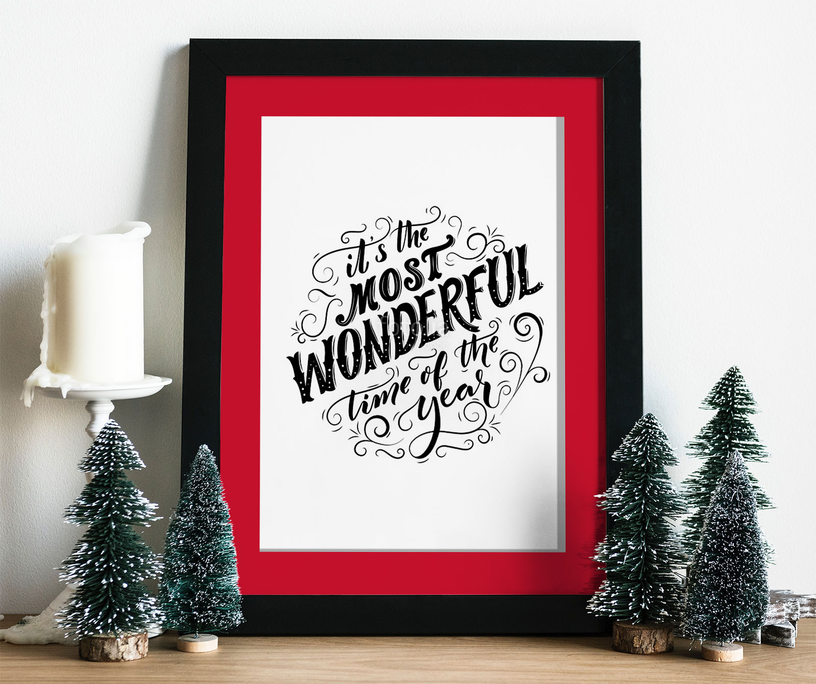 Free-Photo-Frame-Mockup-PSD-for-Christmas-Related-Artworks-2