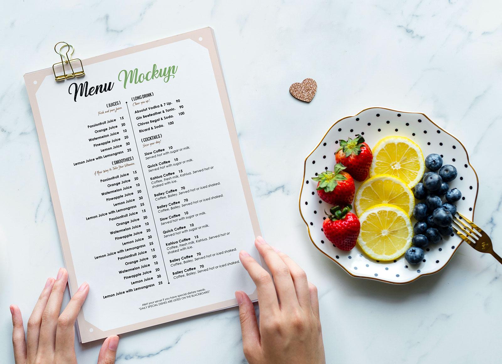 Free-Restaurant-Menu-Flyer-Mockup-PSD