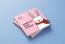 Free-Square-Children's-Book-Mockup-PSD-Set