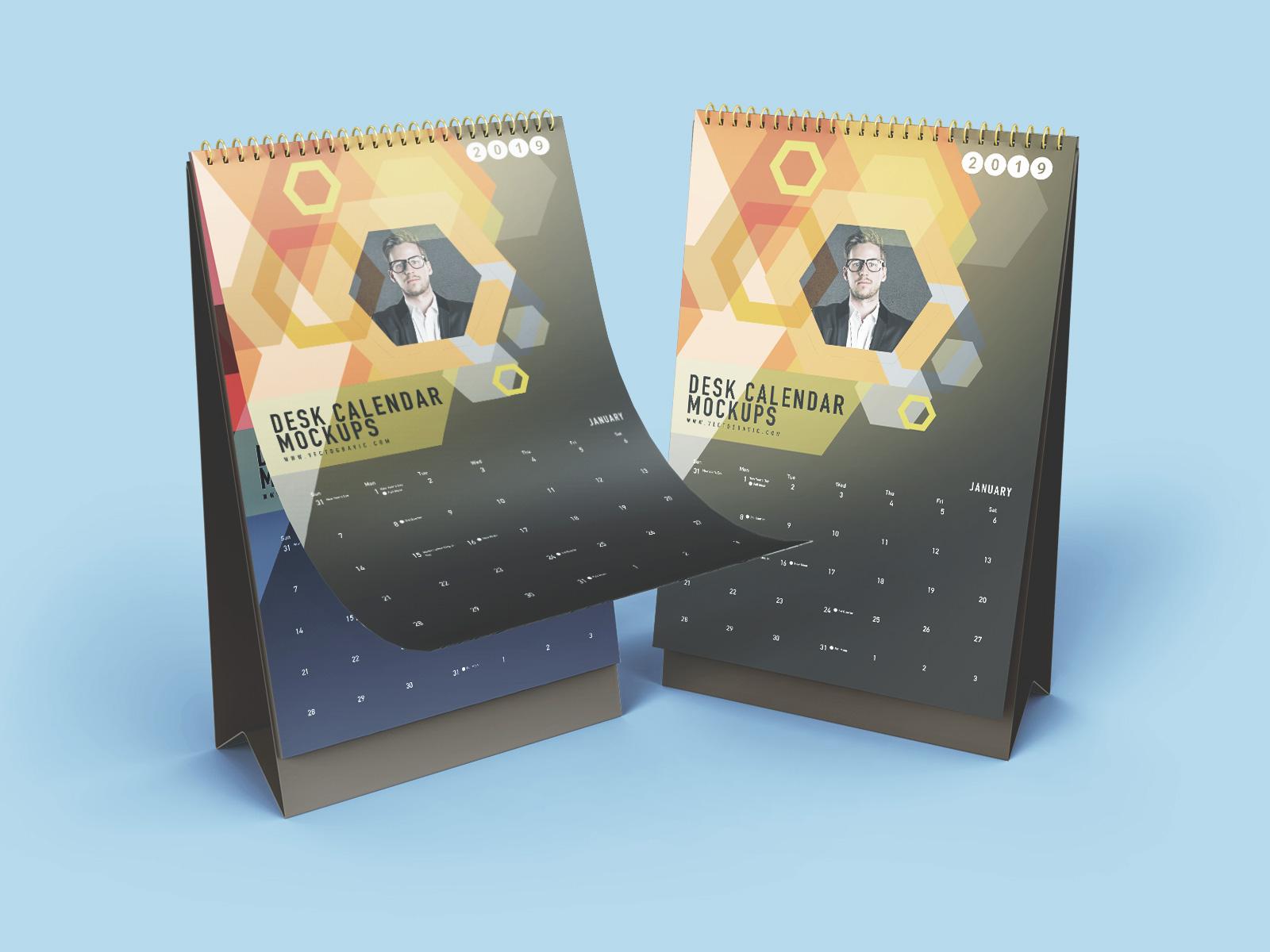 Free-Vertical-Desk-Calendar-Mockup-PSD-Set