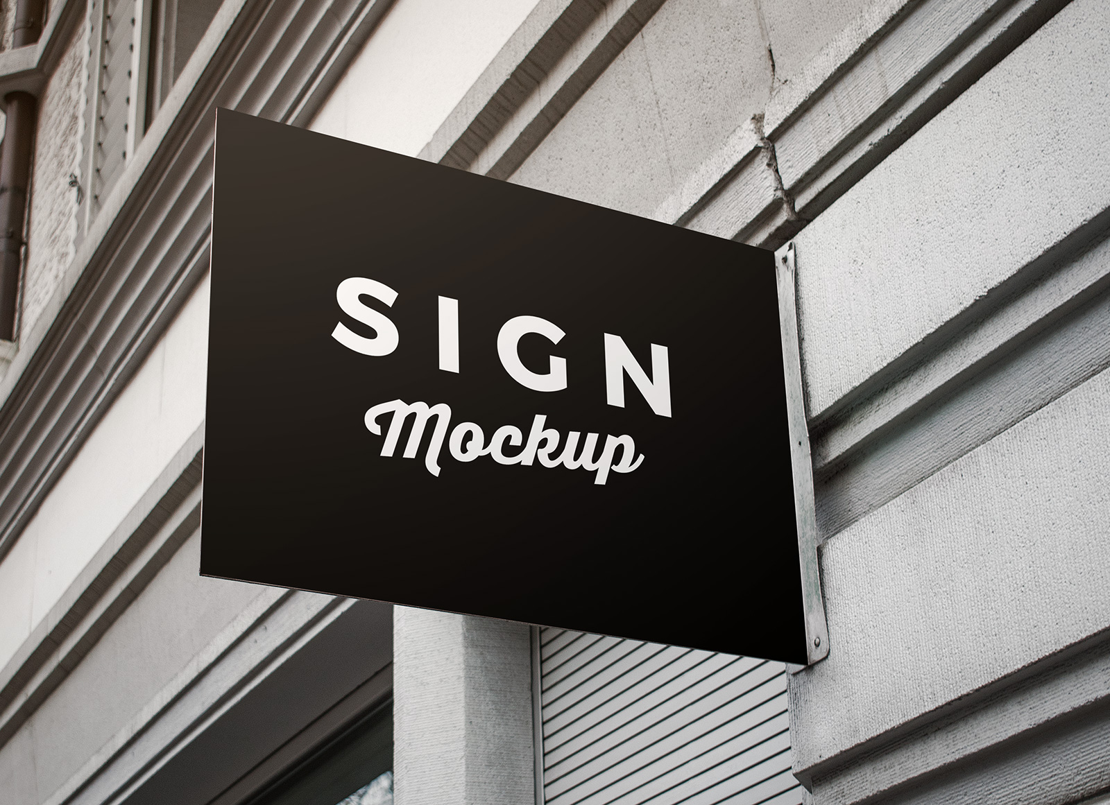 For-Wall-Mounted-Rectangle-Shape-Signage-Mockup-PSD