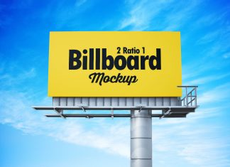 Free 21 Premium Billboard Mockup PSD Set (3)
