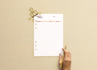 Free-A5-Monthly-Planner-Mockup-PSD-File