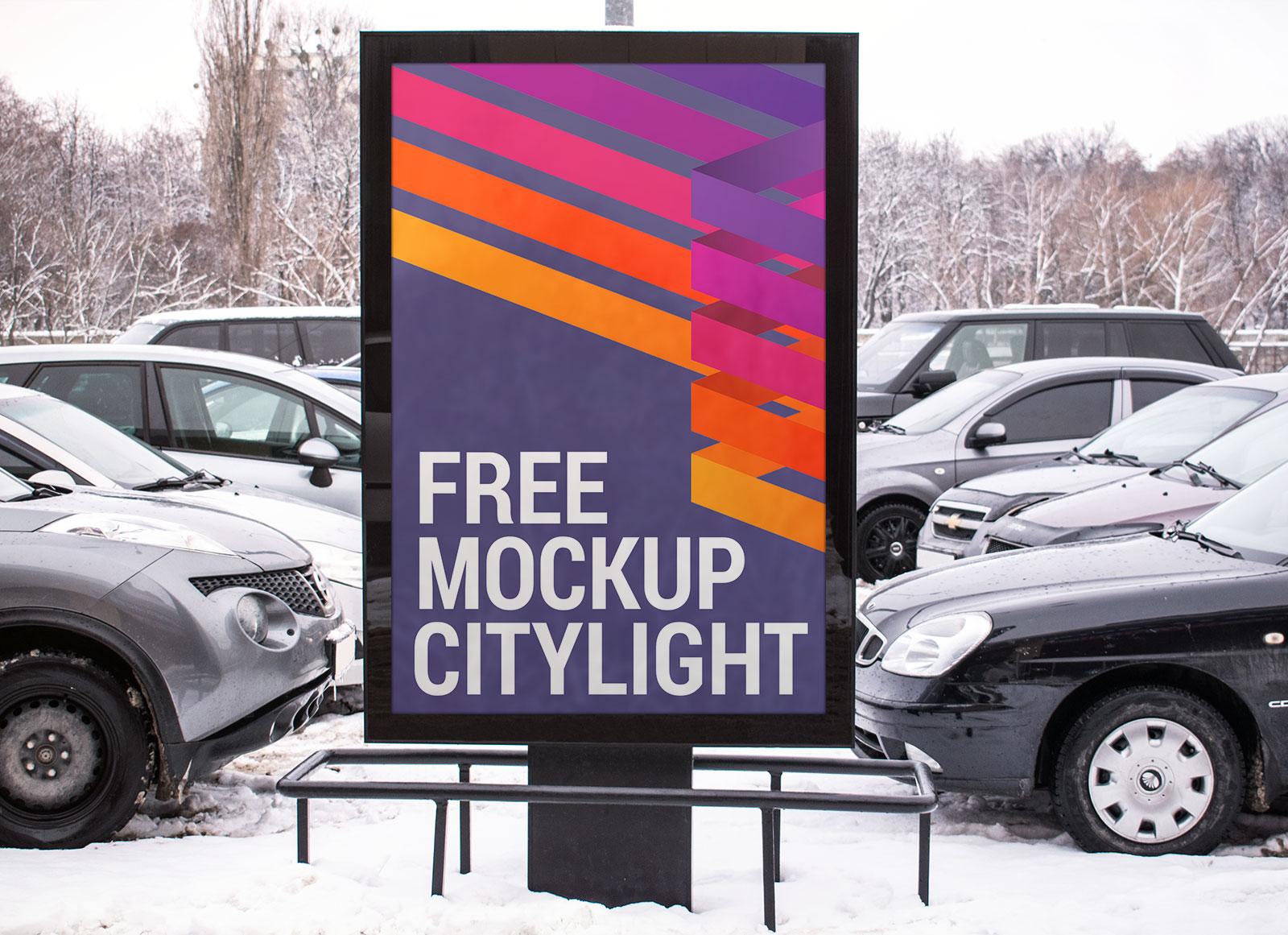 Free-Citylight-Street-Billboard-Mockup-PSD