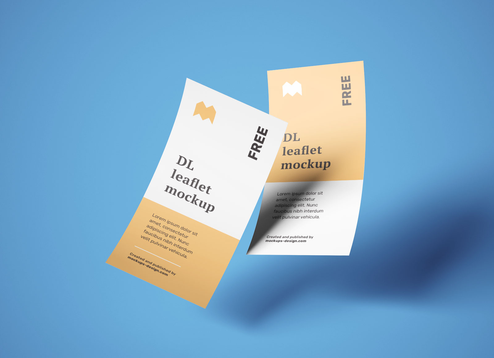 Free-DL-One-Page-Leaflet-Flyer-Mockup-PSD-Set