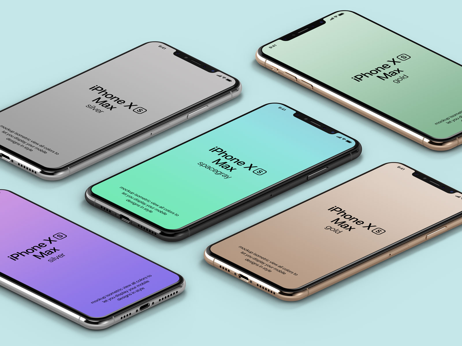 Free-Isometric-iPhone-Xs-Max-Mockup-PSD-File-2