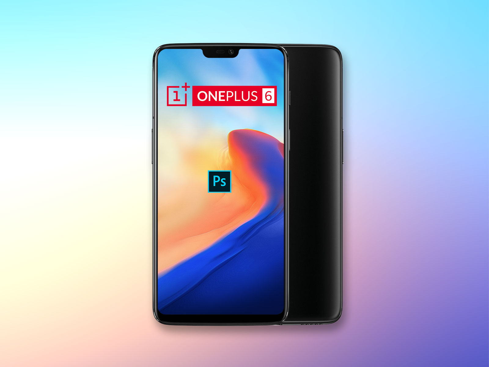 Free-OnePlus-6-Mobile-Mockup-PSD-File